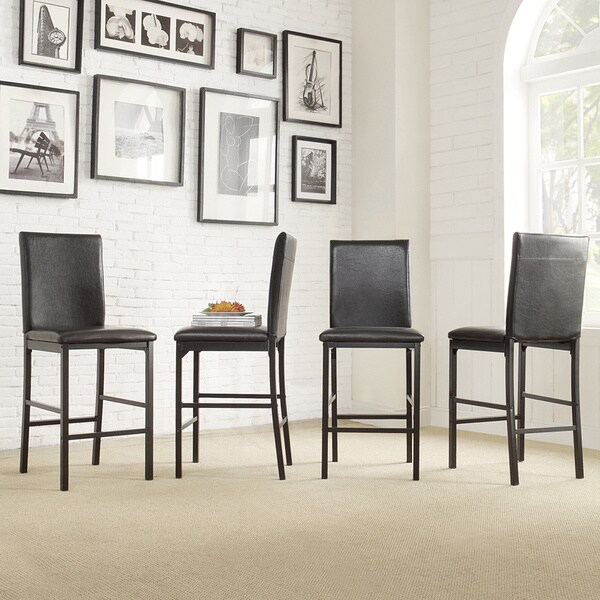 Inspire Q Darcy Metal Upholstered Counter Height Dining