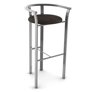 Amisco Lolo Grey Finish 26 Inch Bar Stool