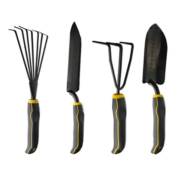 Stanley 4 Piece Black Yellow Garden Digging Kit