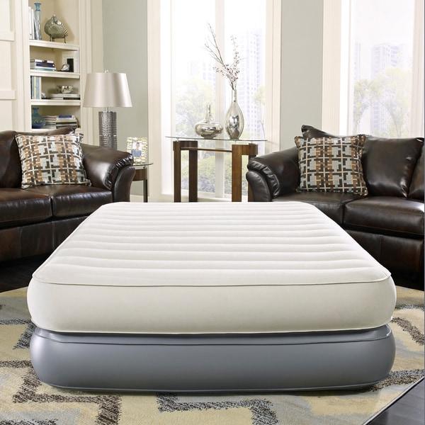Simmons Beautyrest Velveteen 18 Inch Queen Size Pillow Top
