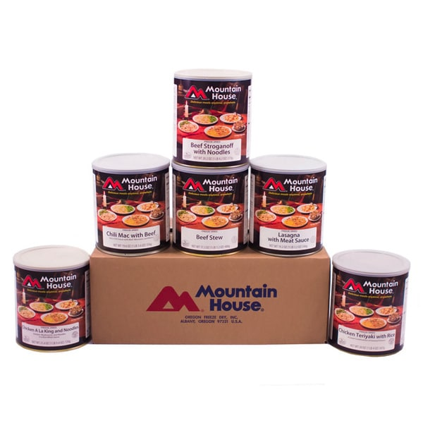 Mountain House Freeze Dried Lunch Dinner Favorites Kit