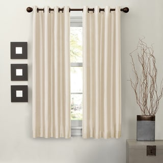 Aurora Home Solid Insulated 63 Inch Blackout Tie Up Shade