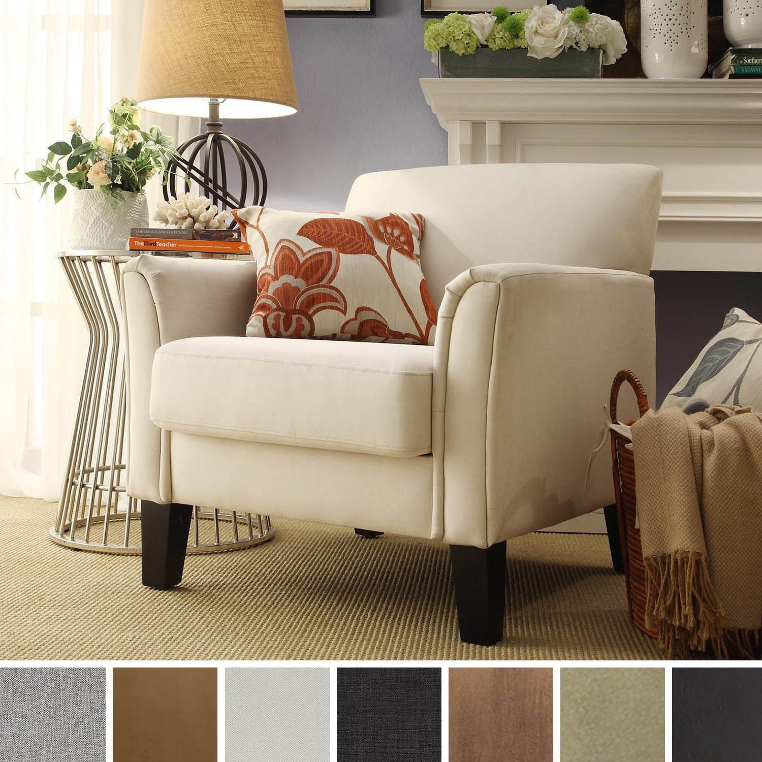 1cheap Tribecca Home Uptown Modern Accent Chair Cheap Living Room