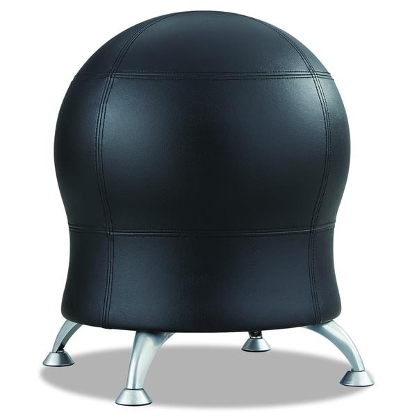 Balance Ball Chair Youtube: Zenergy Black Vinyl Ball Chair