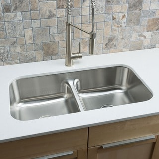 Sale Designer Collection Stainless Steel Low Divide Equal Double Bowl Kitchen Sink Bet 0eroo