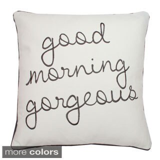 Cotton Quotes Sayings Throw Pillows Overstock Shopping