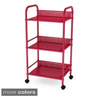 Altra Marshall 3 Shelf Rolling Utility Cart 16249914