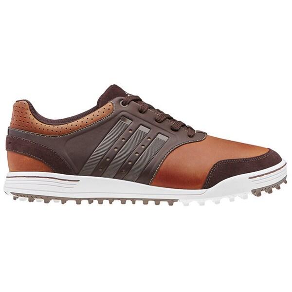 Adidas Adicross Tour Spikeless Mens Golf Shoe Brown White