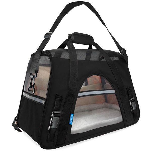 Oxgord Soft Sided Cat Dog Comfort Travel Pet Carrier Bag