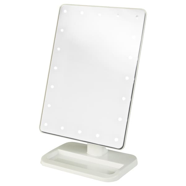 Jerdon 8 Inch Portable10x Led Lighted Makeup Mirror