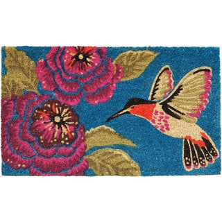 Kosas Home Felicia Coir Doormat 18 X 30 17653613 Overstock Com Shopping Big Discounts