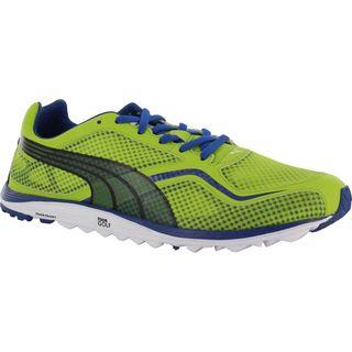 2cc62c2d107 puma shoes men green Puma Mens Faas Lite Mesh Spikeless Lime Green Monaco  Blue ...