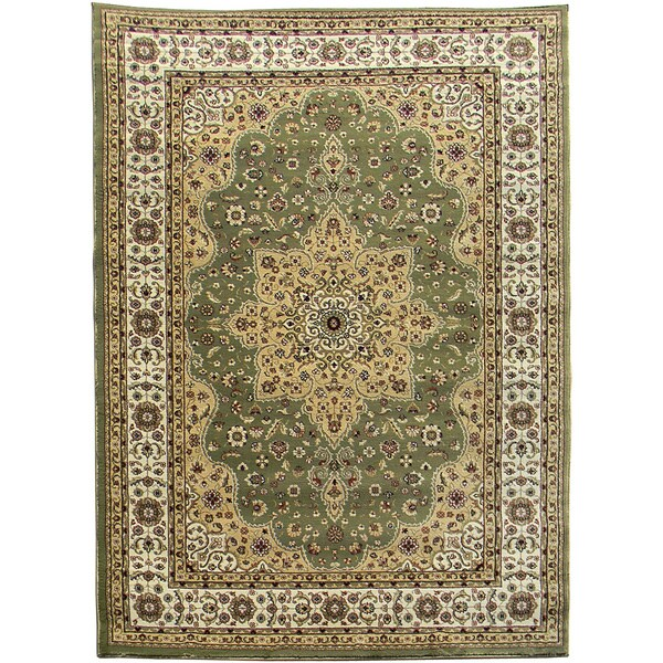tiffany 160 sage green area rug 5 39 x7 39. Black Bedroom Furniture Sets. Home Design Ideas