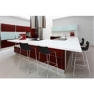 Modern Red Barstool 10399538 Overstock Com Shopping