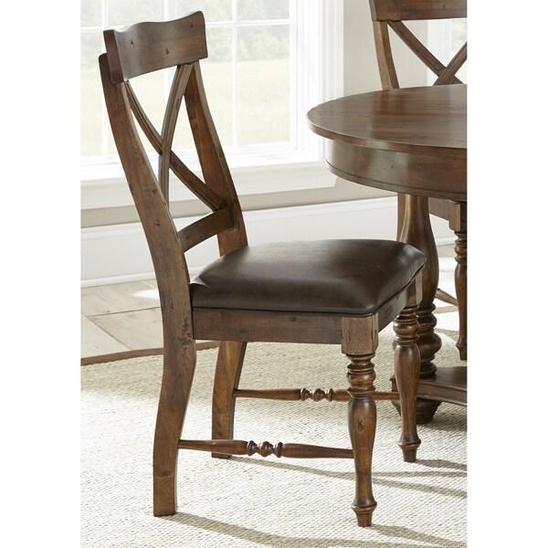 Greyson Living Wyatt Birch Wood Side Chairs Set Of 2