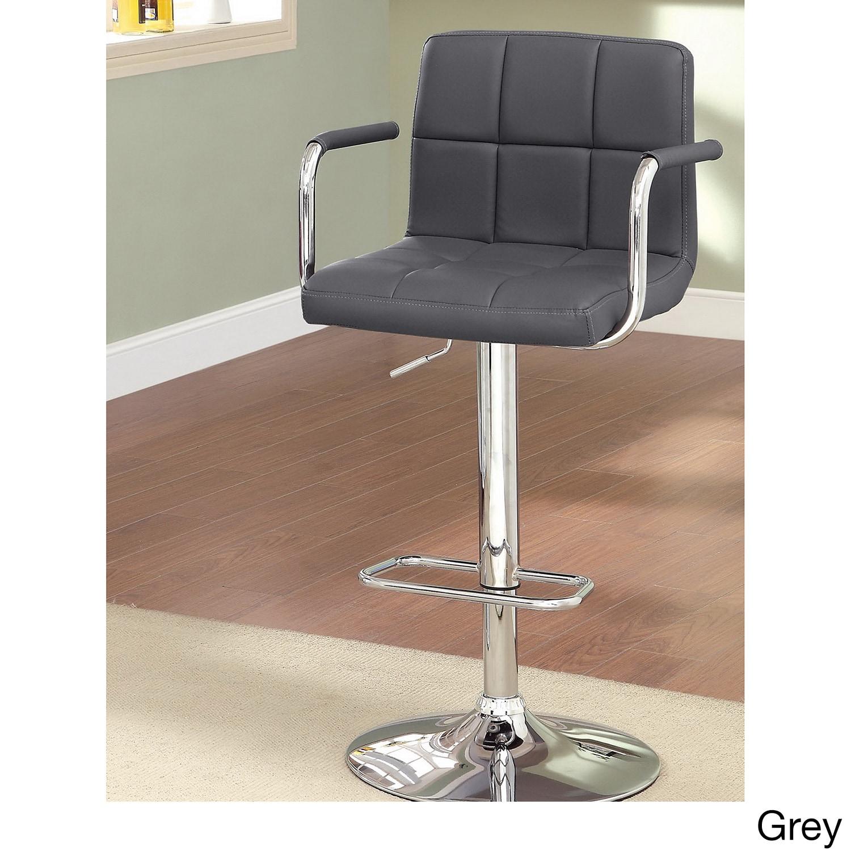 Stools Overstock: Furniture Of America Corvelli Adjustable Swivel