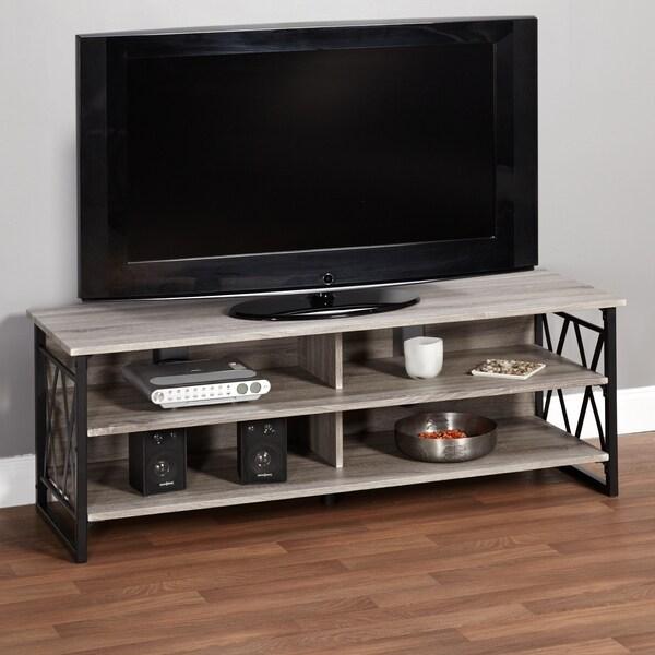 Simple Living Seneca XX 60-inch Black/ Grey Rustic TV