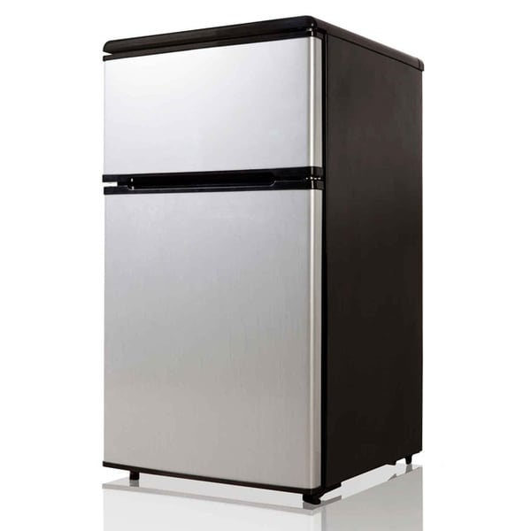 Equatormidea Stainless Steel 31cubic Foot Compact Refrigerator image