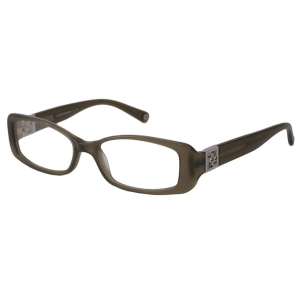 4334e51ce42f Coach Readers Womens Vanessa Rectangular Reading Glasses +1.25 (As ...