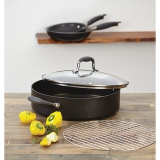 Anolon Advanced Bronze Hard Anodized 3 5 Quart Nonstick