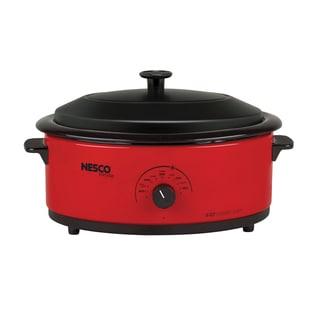 Nesco 4818 25 20 18 Quart Stainless Steel Roaster Oven