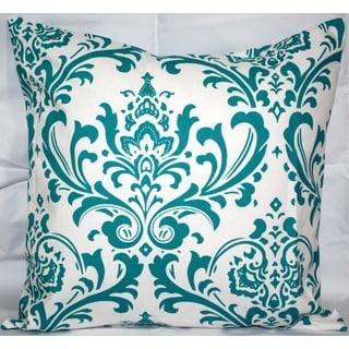 Arbor Black And White Damask Decorative Throw Pillows Set