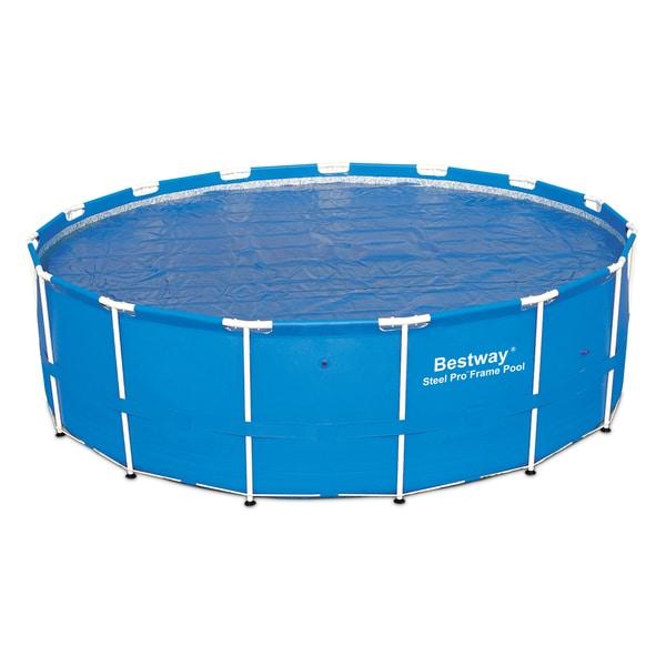 Bestway Solar 15 Foot Pool Cover 16100385 Overstock