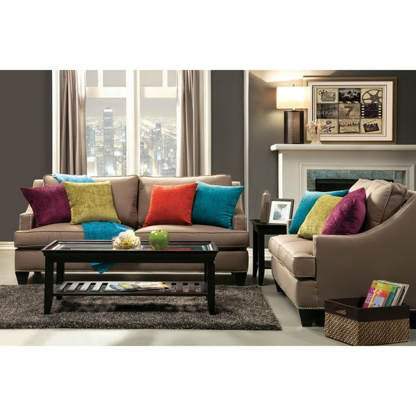 No Rooms Colorful Furniture: Furniture Of America Colorful Tropak Fabric Sofa And