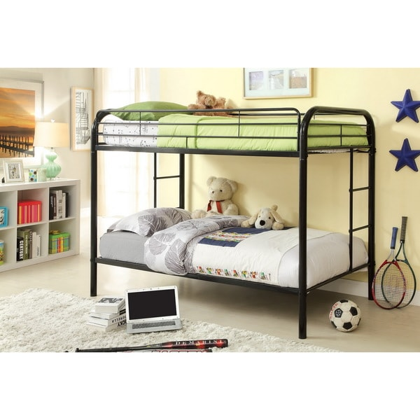 Rc Willey Kids Beds: Furniture Of America Linden Twin Over Twin Metal Bunk Bed