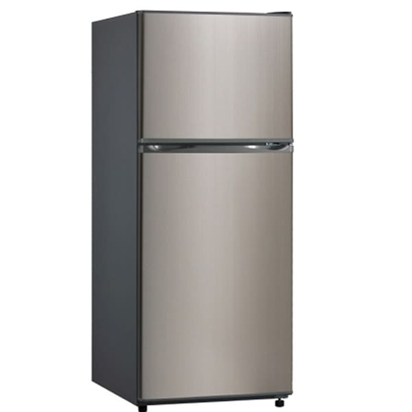 Apartment Fridge: Equator-Midea Stainless Steel Apartment Refrigerator