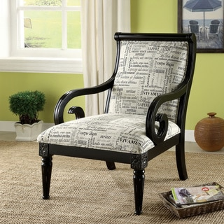French Script Accent Chairs Set Of 2 14766302