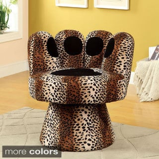 Zebra Print High Heel Chair 15725502 Overstock Com