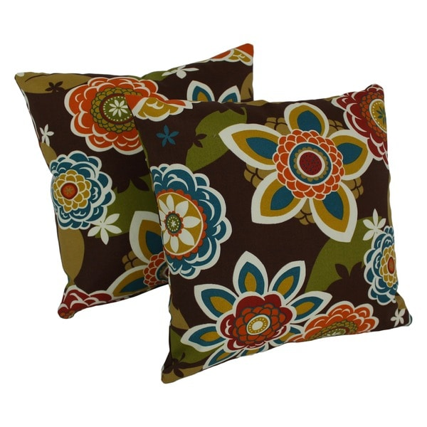 Patterned Outdoor Throw Pillows 88