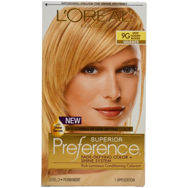 Strawberry blonde hair dye loreal