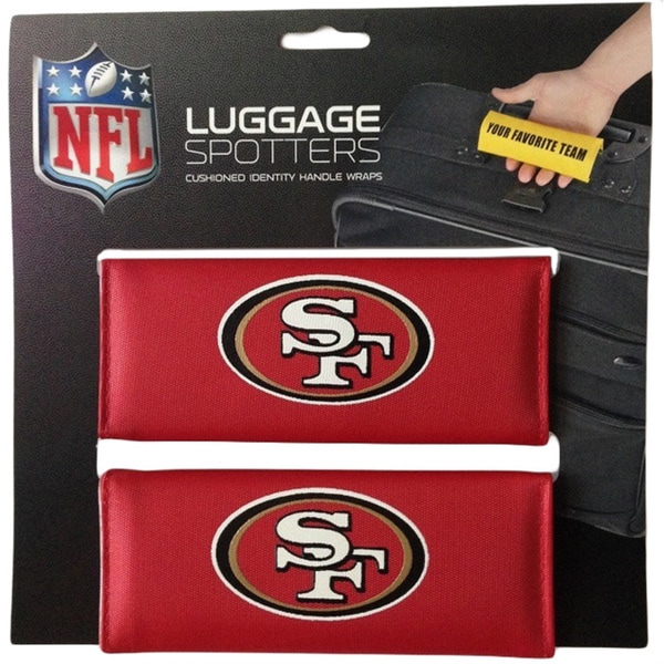 Nfl San Francisco 49ers Original Patented Luggage Spotter