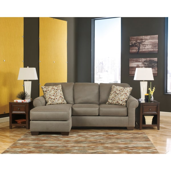 Signature Design By Ashley Danley Dusk Fabric Sofa With