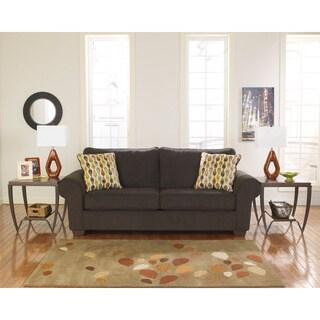 Pleasant Sale Signature Design By Ashley Deandre Java Fabric Sofa Machost Co Dining Chair Design Ideas Machostcouk