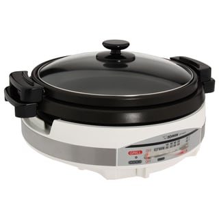 Aroma Stainless Steel Electric Skillet 14987355 Overstock Com Shopping Great