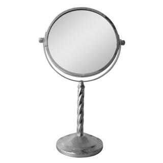 Free Standing 5x Magnifying Makeup Mirror