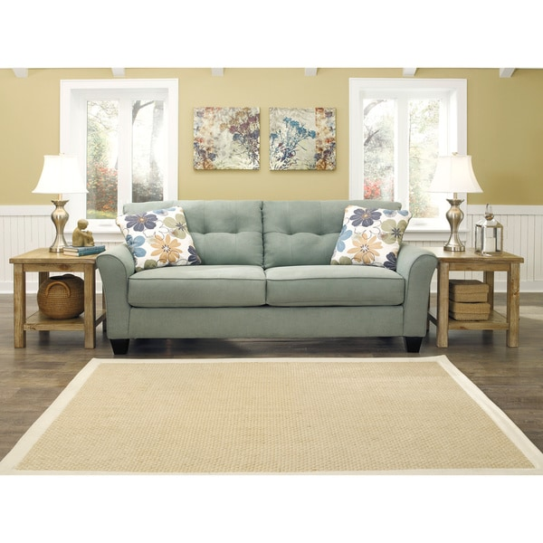 Signature Design By Ashley Kylee Lagoon Contemporary Sofa
