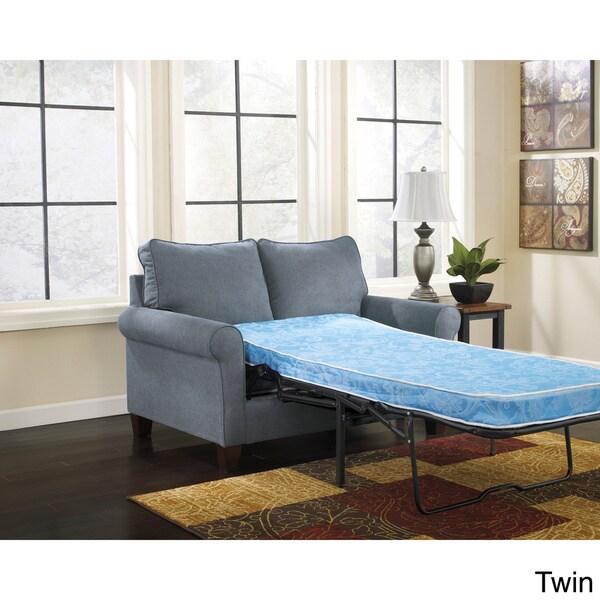 Signature Design By Ashley Zeth Denim Sleeper Sofa