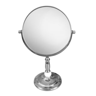 Free Standing Victorian Style 5x Magnifying Makeup Mirror