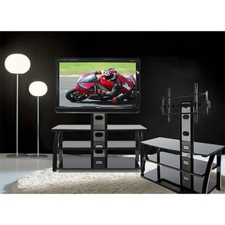 Admirable Sale Avista Numina Piano Black Tv Stand With Mounting Creativecarmelina Interior Chair Design Creativecarmelinacom