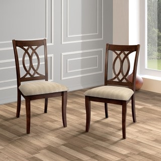 Furniture Of America Cerille Elegant Brown Cherry Dining