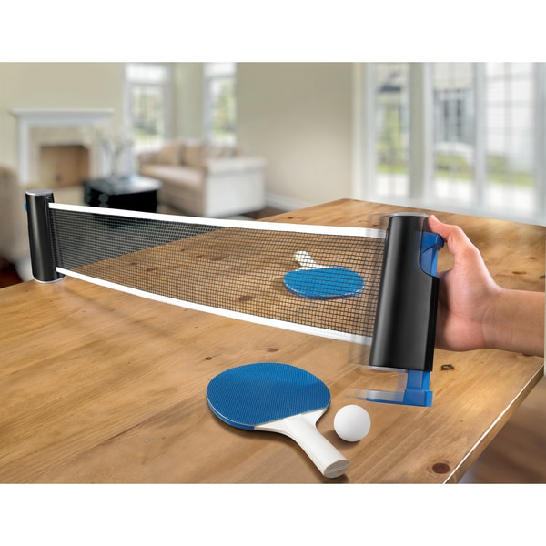 Black Series Retractable Table Tennis Set image