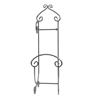 Wrought Iron Old Spanish Mission Towel Holder 13015842