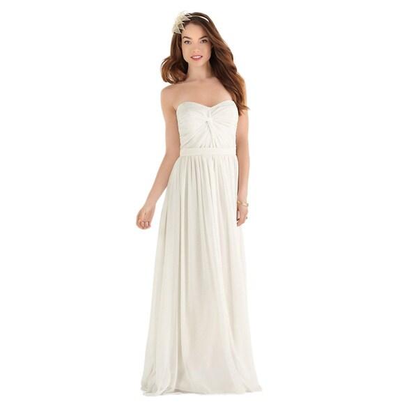 Dessy After Six Bridal Women's Full Length Chiffon