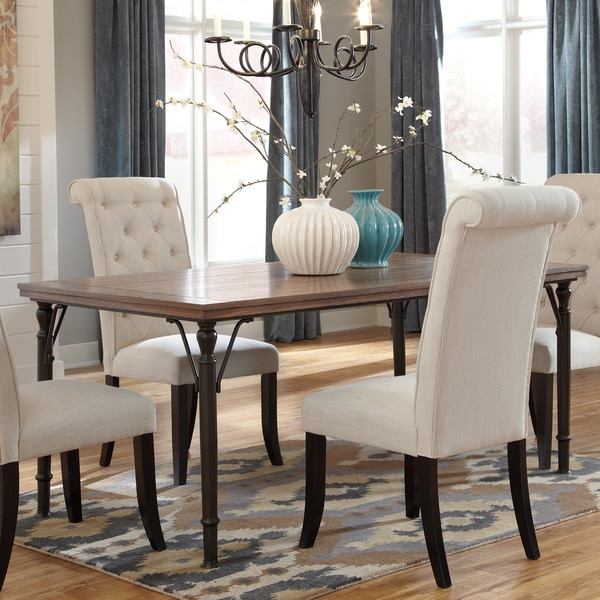 Overstock Dining Room Tables: Signature Design By Ashley Tripton Rectangular Dining Room