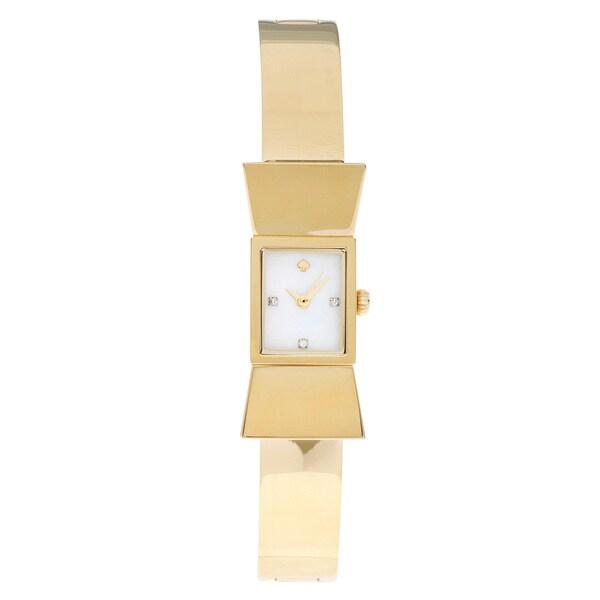b82c46c8081b Kate Spade New York Women s 1YRU0070  Carlyle  Bangle Bow Watch ...