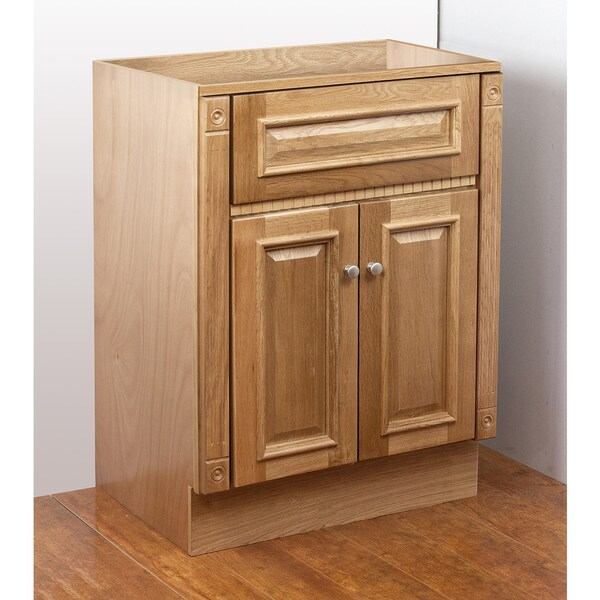 Heritage Oak 30x18 Vanity Cabinet Bathroom Home Modern New